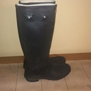 Hunter boots 9 as is ❤️